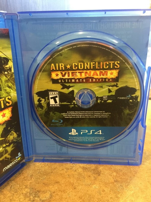 SONY Sony PlayStation 4 Game PS4 AIR CONFLICTS VIETNAM