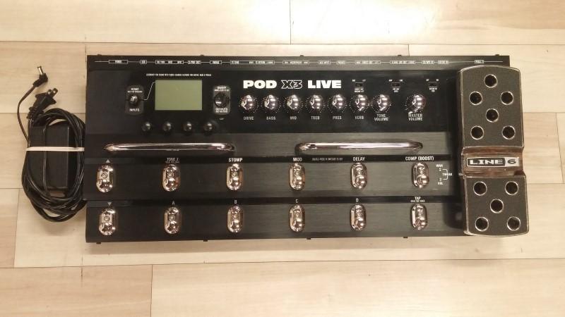LINE 6 Effect Equipment POD X3 LIVE