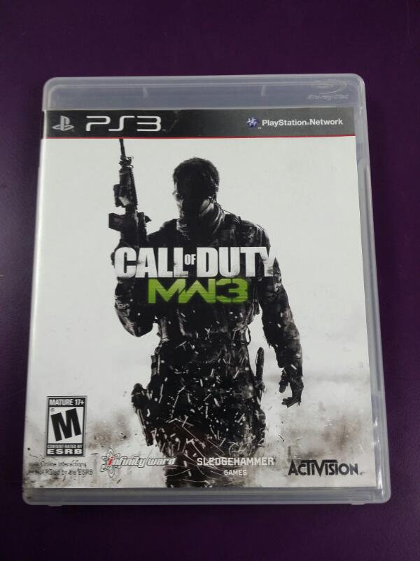 SONY Sony PlayStation 3 Game CALL OF DUTY MODERN WARFARE 3 PS3