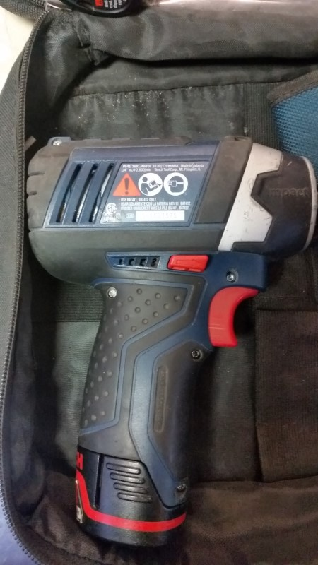 Bosch CLPK27-120 Cordless 12V Max Lithium Ion Pocket Driver & Impact Kit