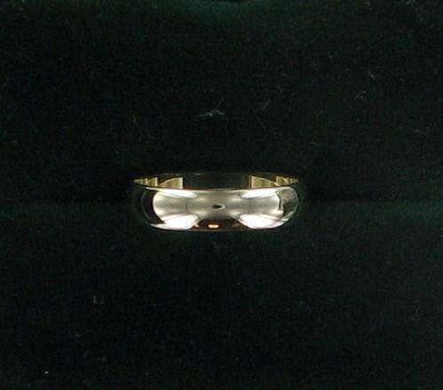 Lady's Gold Wedding Band 14K Yellow Gold 1.8dwt