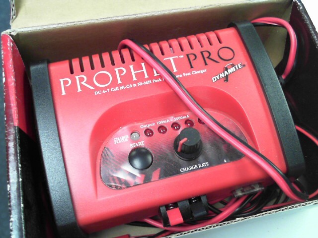 DYNAMITE Battery/Charger PROPHET PRO
