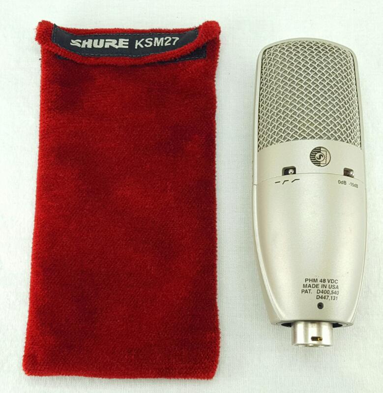 SHURE Microphone KSM27/SL w/Mic Cord