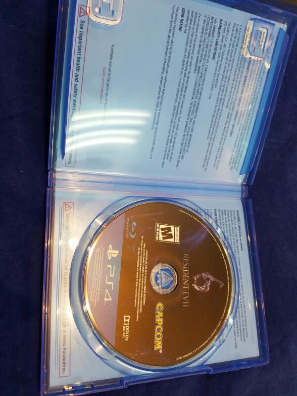 Sony PlayStation 4 Game RESIDENT EVIL 6 - PS4