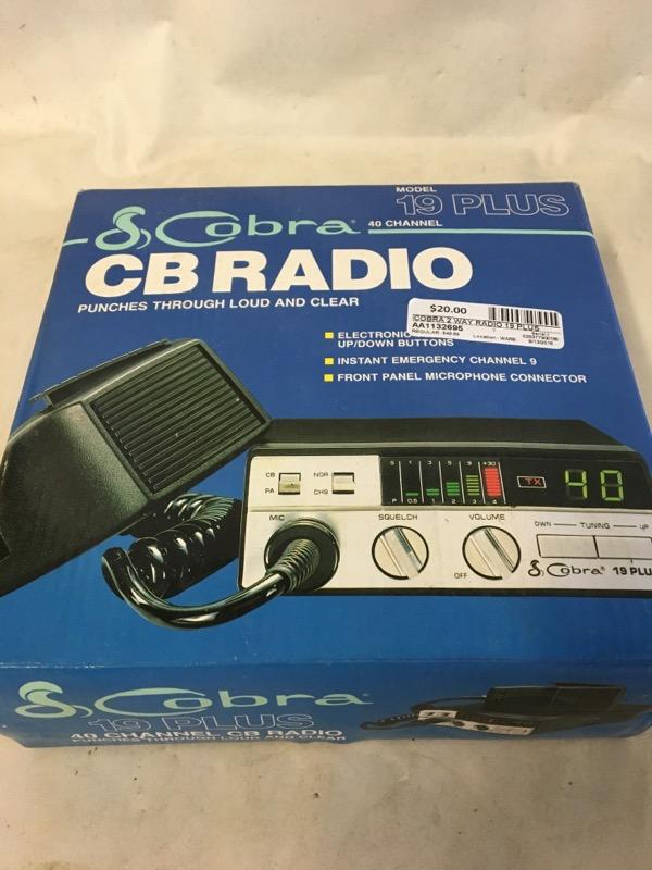 COBRA 2 Way Radio/Walkie Talkie 19 PLUS