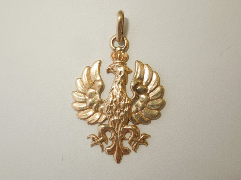 Gold Pendant 14K Yellow Gold 8.3g