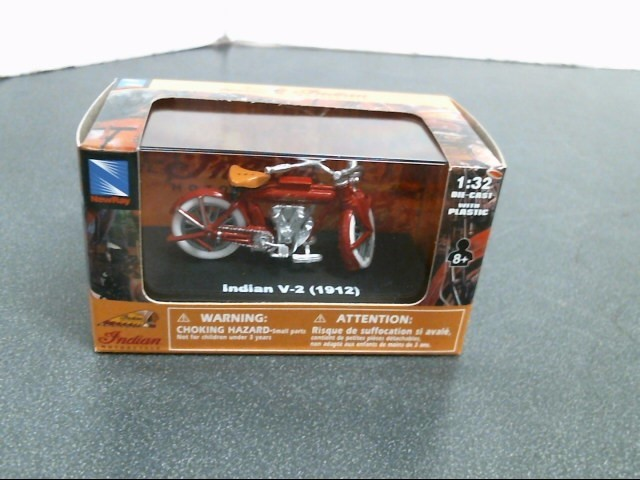 INDIAN MOTORCYCLE Toy Vehicle INDIAN V-2 1912