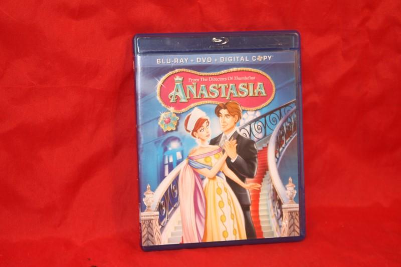 Anastasia (3-Disc Blu-Ray Set, 2011)