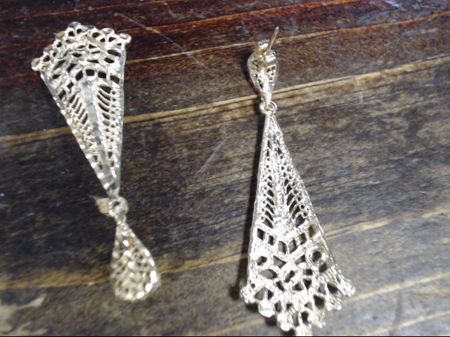 Gold Earrings 14K Yellow Gold 4.2g