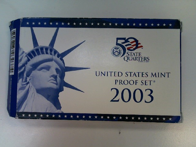 2003 UNITED STATES Proof Set MINT PROOF COIN SET
