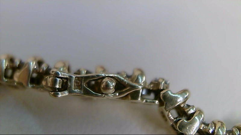 Gold-Diamond Bracelet 100 Diamonds 1.00 Carat T.W. 10K Yellow Gold 11.3g