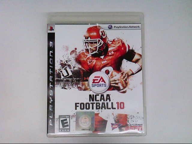 SONY PS3 NCAA FOOTBALL 10