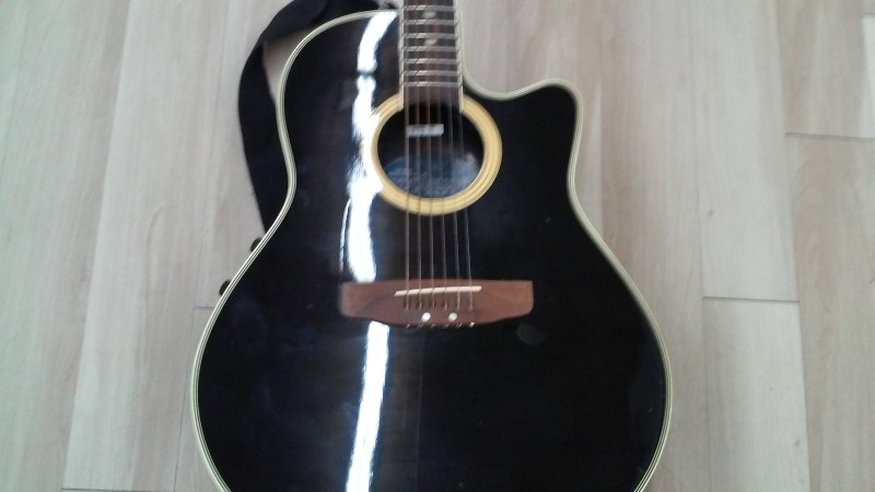 APPLAUSE BY OVATION Electric-Acoustic Guitar AE-38