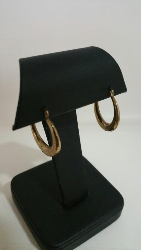 HOOP Gold Earrings 10K Yellow Gold 0.5dwt