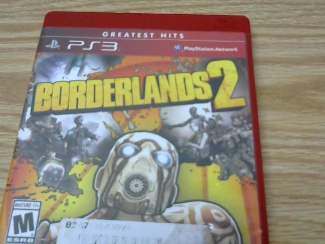 SONY Sony PlayStation 3 Game BORDERLANDS 2