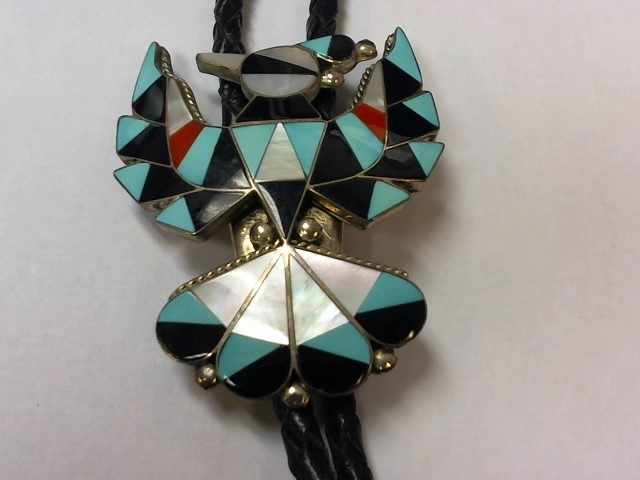 Turquoise Silver-Stone Pendant 925 Silver 32.8g