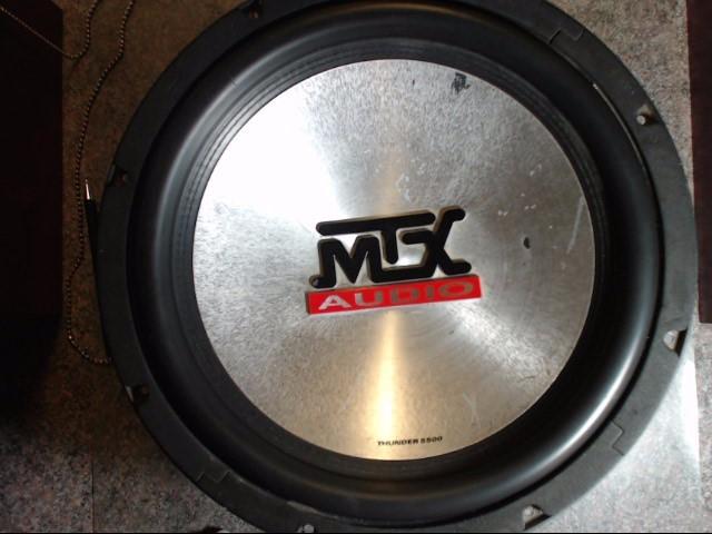 MTX AUDIO Car Speakers/Speaker System THUNDER 5500