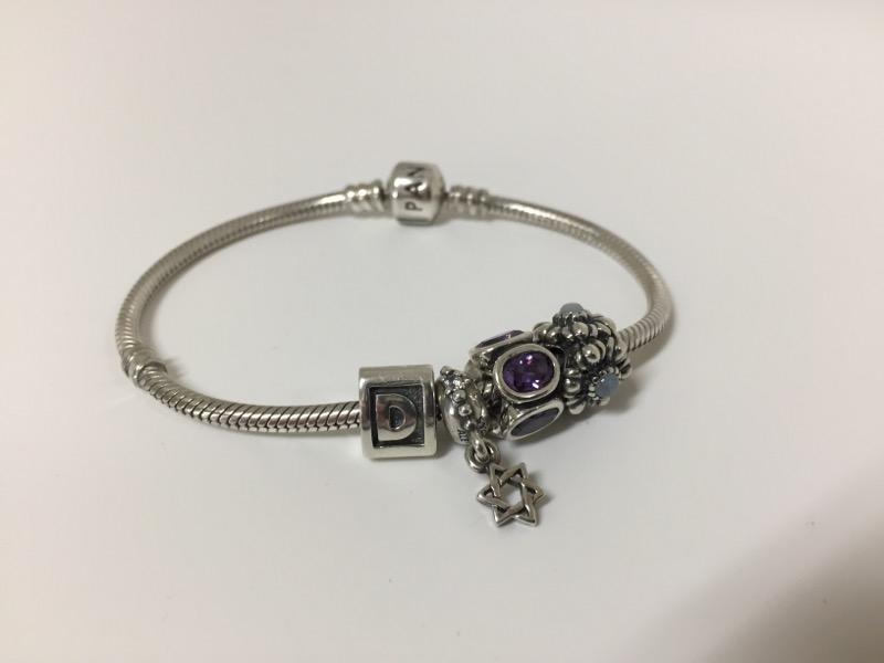 Pandora Silver Fashion Bracelet PANDORA 925 Silver 27.6dwt
