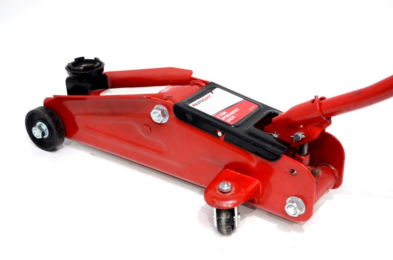 AutoCraft 2-Ton Heavy Duty Steel Hydraulic Trolley Jack AC924