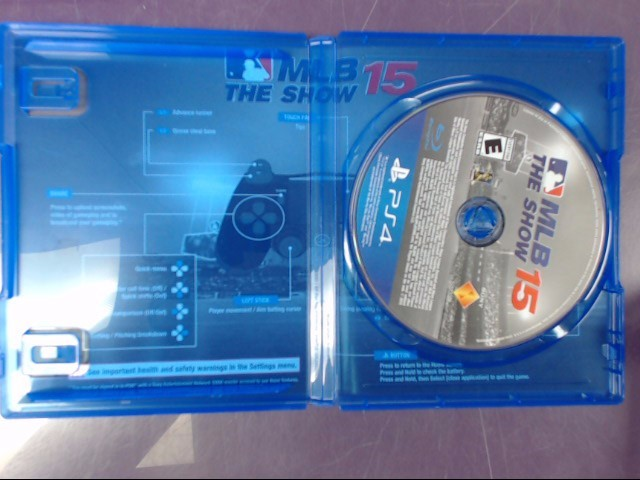 Sony PlayStation 4 Game MLB THE SHOW 2015 - PS4