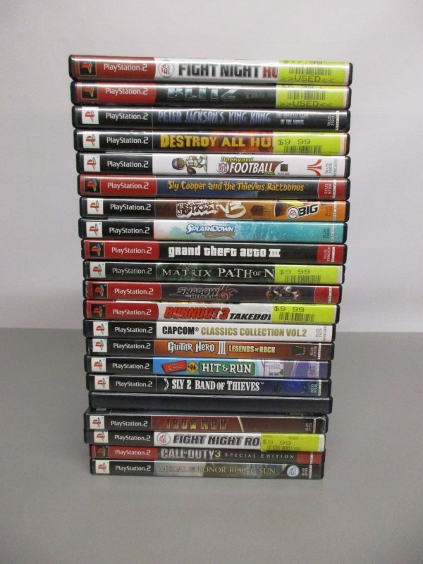 LOT OF 21 PS2 GAMES