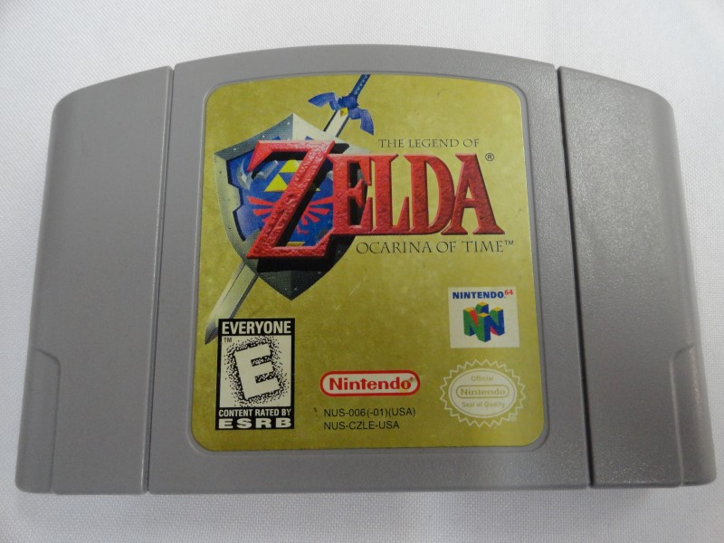 The Legend Of Zelda Ocarina of Time - Nintendo 64