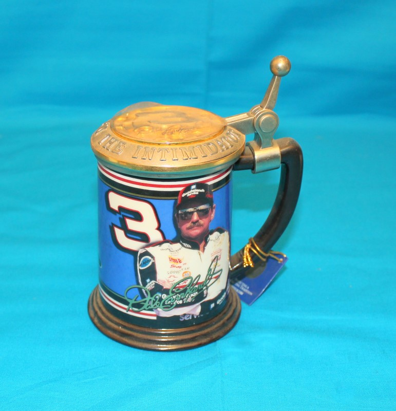 FRANKLIN MINT Collectible Plate/Figurine DALE EARNHARDT COLLECTORS TANKARD