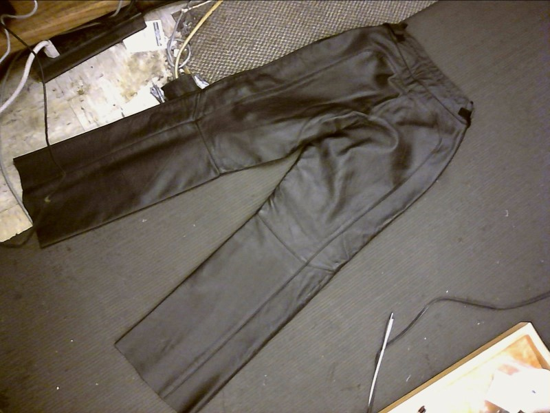 HARLEY DAVIDSON LEATHER WOMENS PANTS, Size 30