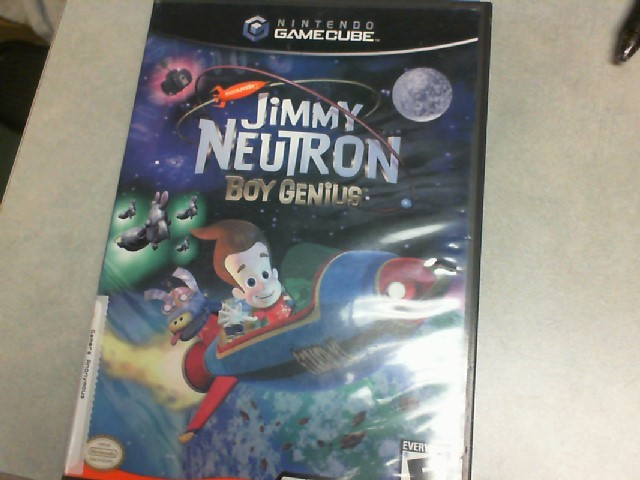 Gamecube Jimmy Neutron Boy Genius