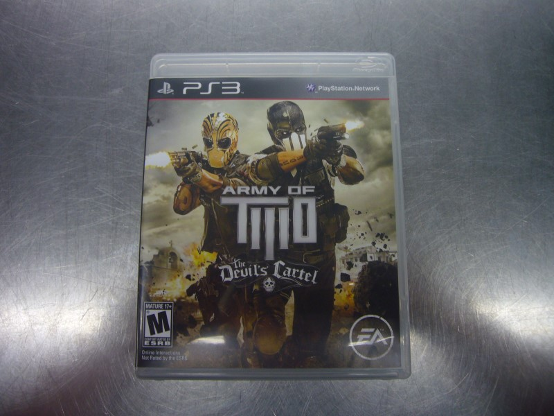SONY PlayStation 3 Game ARMY OF TWO THE DEVILS CARTEL