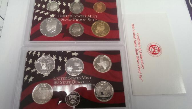 UNITED STATES 2004 SILVER PROOF SET