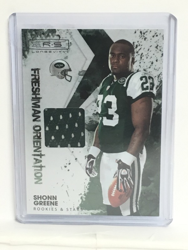 2009 DONRUSS  SHONN GREENE 33/100