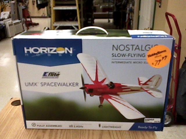 Horizon Radio Control/Control Line UMX SPACEWALKER