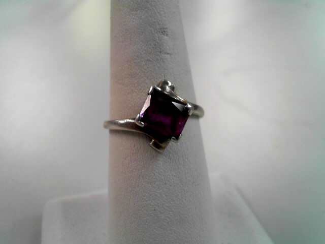 Lady's Silver Ring 925 Silver 2.7g Size:9