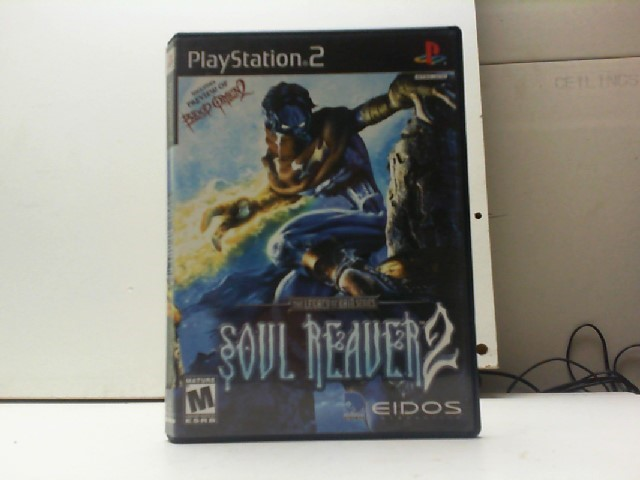 SONY Sony PlayStation 2 Game SOUL REAVER 2