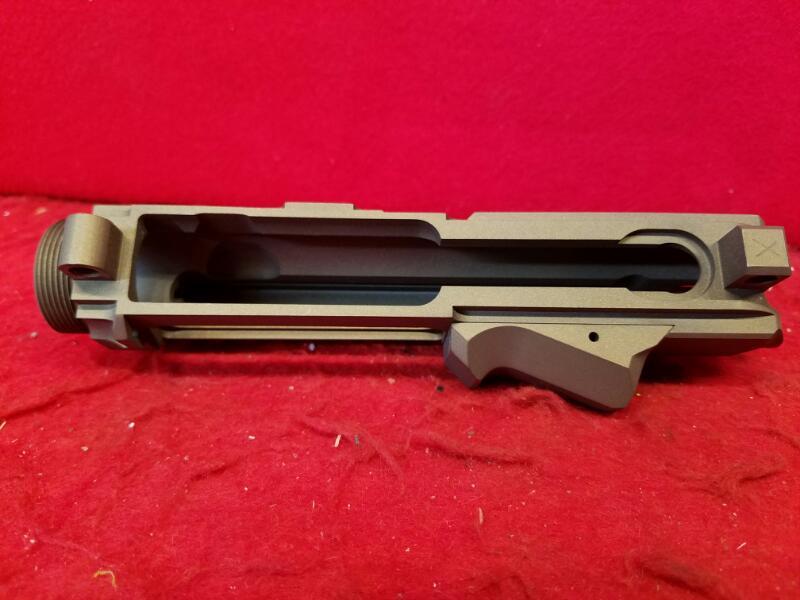 Hell Hound AR Upper / 7075-T6 Aluminum Billet Receiver