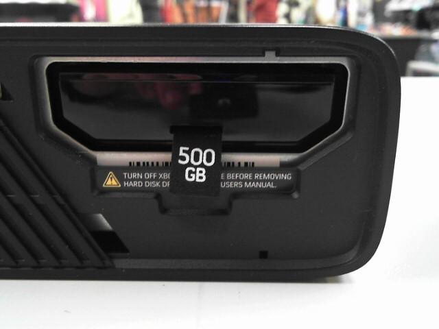 MICROSOFT XBOX 360 TYPE E W/ 500GB HARD DRIVE