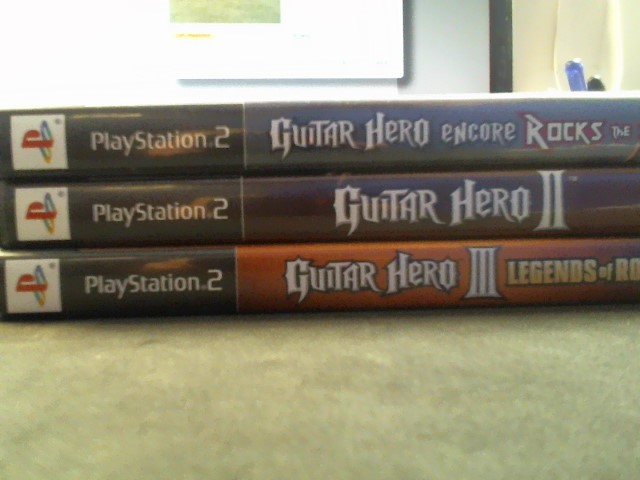 SONY Sony PlayStation 2 Game GUITAR HERO PLAYSTATION 2