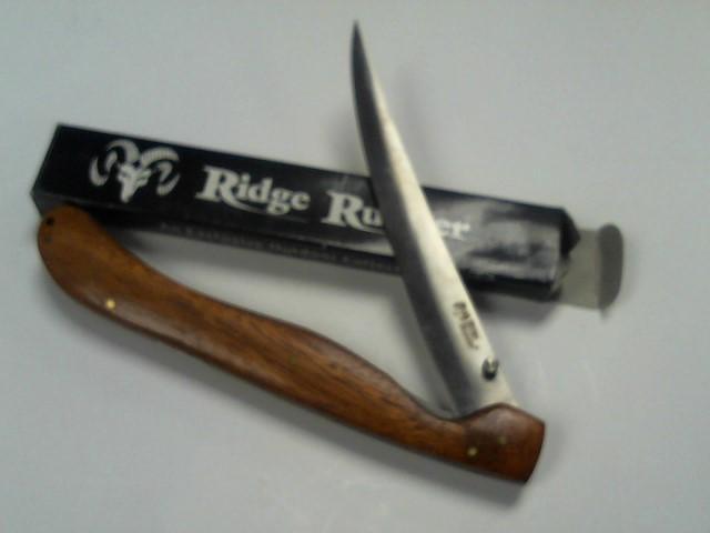 BUD K Hunting Knife RIDGE RUNNER