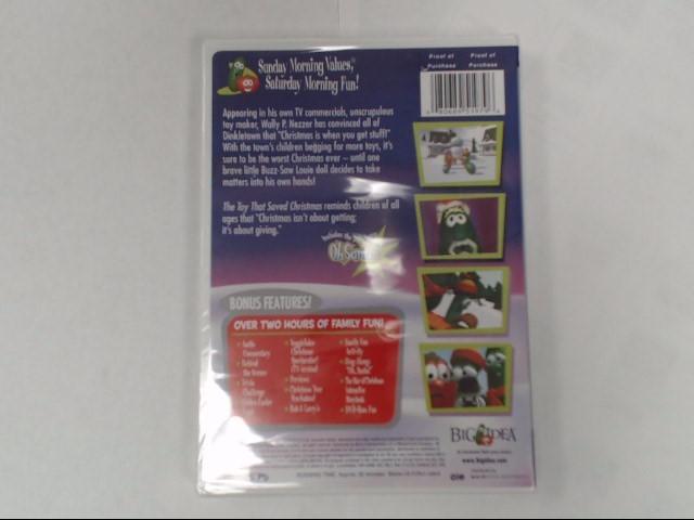 DVD MOVIE DVD VEGGIETALES-THE TOY THAT SAVED CHRISTMAS (2002)