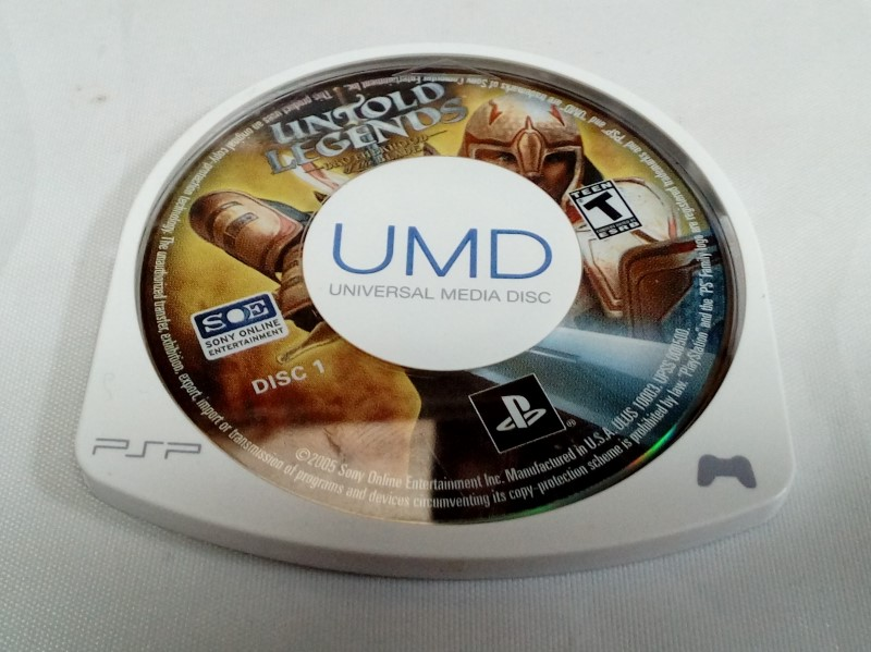 SONY PSP UNTOLD LEGENDS: BROTHERHOOD OF THE BLADE