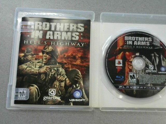 SONY Sony PlayStation 3 Game BROTHERS IN ARM HELLS'S HIGHWAY