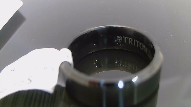Gent's Ring Black Tungsten carbide 15.3g size 9