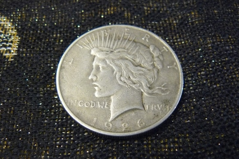 UNITED STATES Silver Coin 1926 PEACE DOLLAR