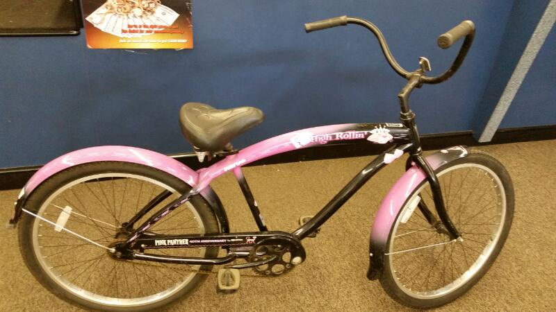 Pink Panther Bicycle High Rollin