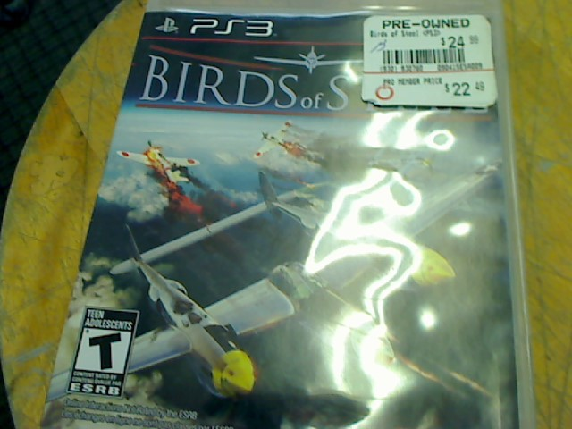 PLAYSTATION 3 BIRDS OF STEAL