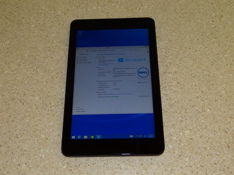 DELL VENUE 8 PRO TABLET T01D, Windows 8, 2GB RAM, 32GB HD