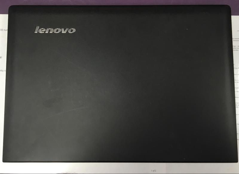 LENOVO LAPTOP G50-45, WIN 8.1, AMD A-8 6410, 6GB MEMORY, 500GB HDD
