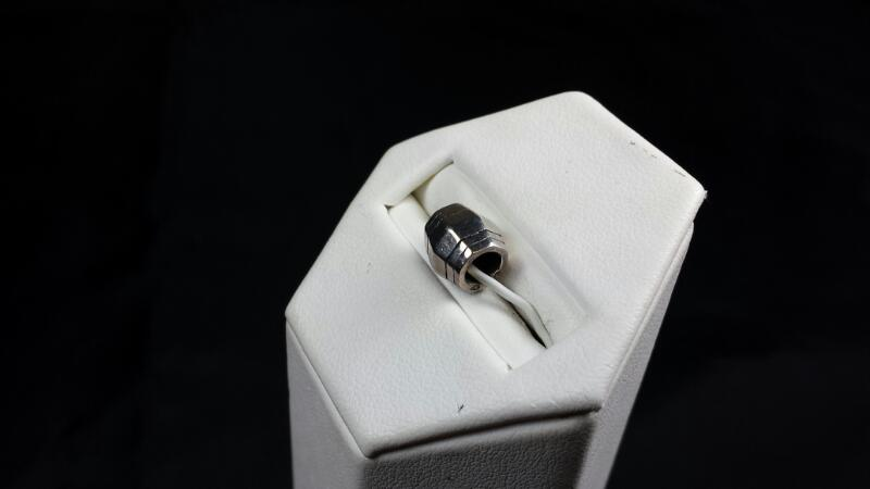 New Reflections Barrel Bead 925 Silver 2.3G
