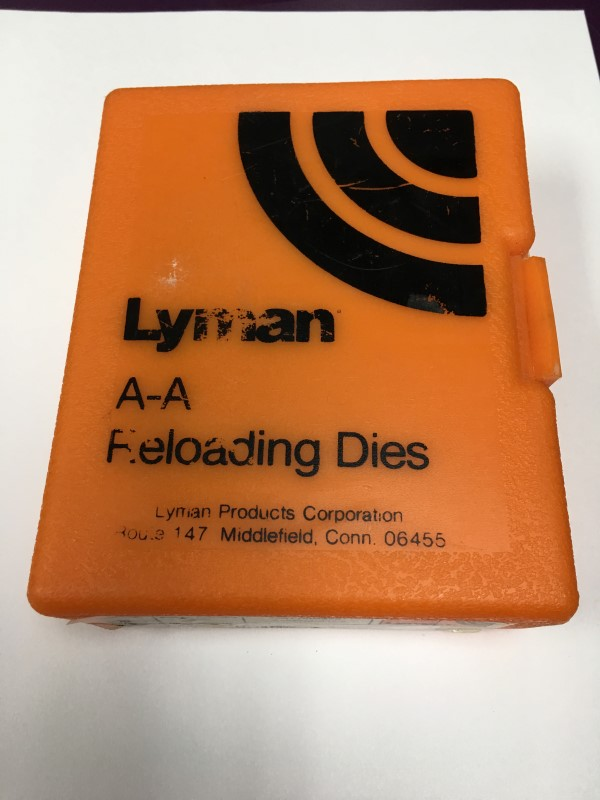 LYMAN ALL-AMERICAN 2-DIE RIFLE KIT, INCLUDES RELOADING,  30-06, 7.62 X 63MM